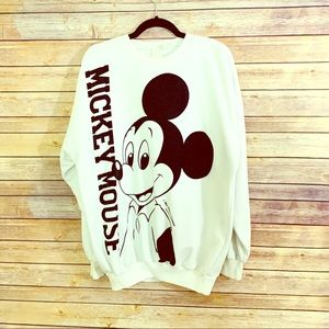 Vintage 80s Disney Mickey Mouse sweater size Large